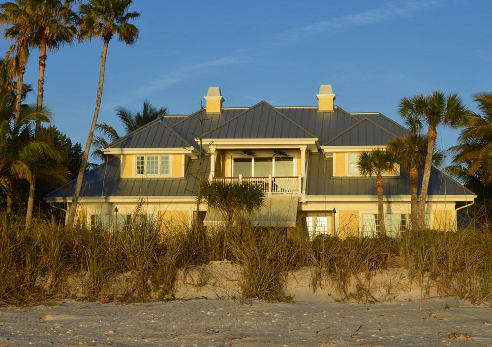 home on Nokomis Beach